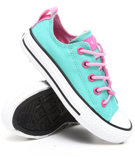 Converse Girls Teal Chuck Taylor All Star Twisteez (11-6)