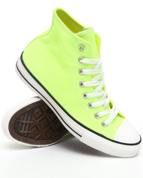 Converse Men Yellow Chuck Taylor Hi Sneakers
