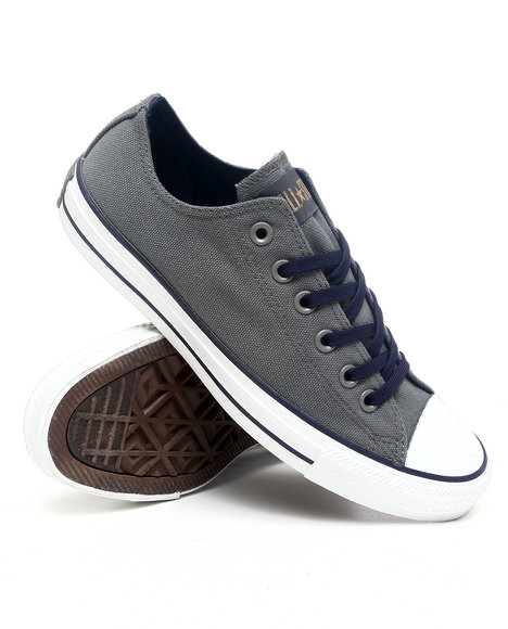 Converse Men Charcoal Chuck Taylor All Star Ox Sneakers