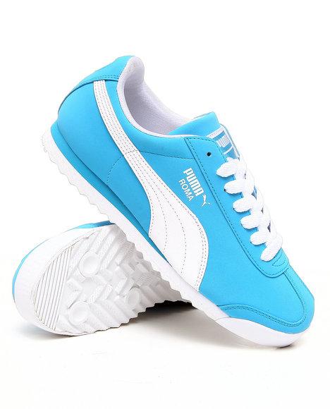 Puma Men Blue Roma Sl Nbk Sneakers