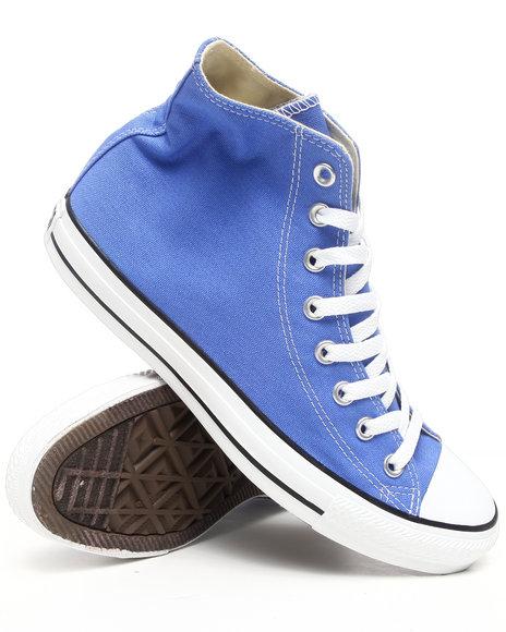 Converse Men Light Blue Chuck Taylor Hi Sneakers