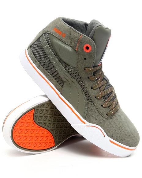 Puma Men Olive Maeko Xl Perf Sneakers