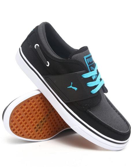 Puma Men Black El Harbor Boat Sneakers