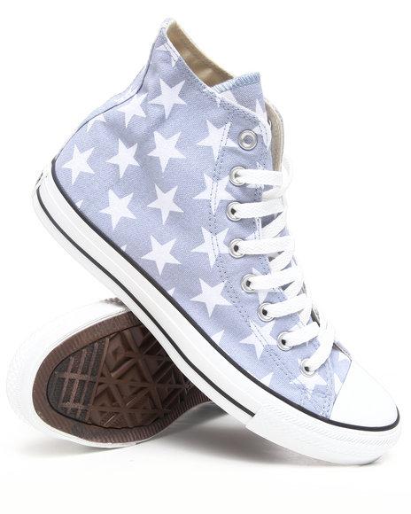 Converse Men Grey Chuck Taylor Hi Star Sneakers