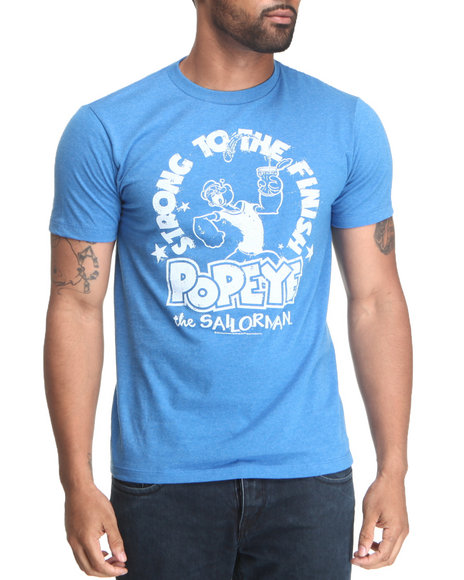 Graf-X Gallery Blue Popeye Strong To The Finish Tee