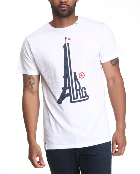 LRG White We Eat Baguettes Slim Fit Tee