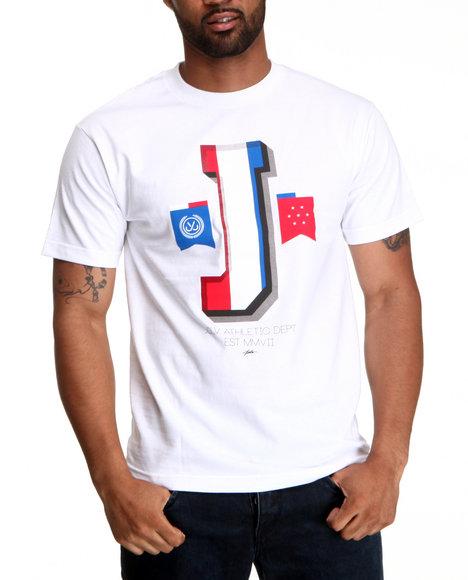JSLV White The J Tee