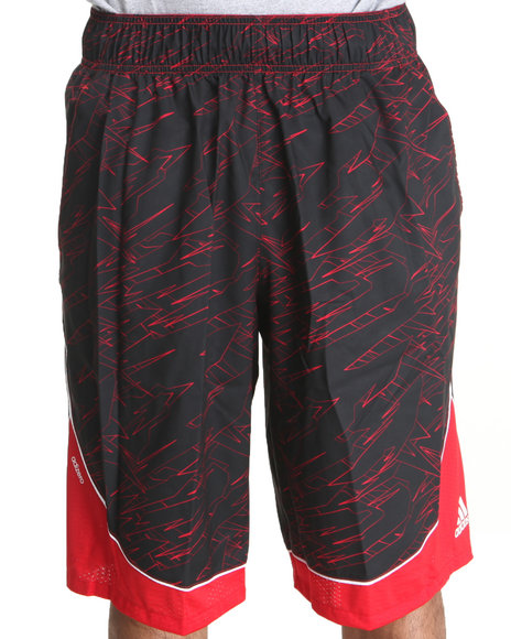 Adidas Men Black Adizero Crazy Light 2.0 Shorts