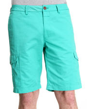 Shades of Grey by Micah Cohen - Turquoise Twill Cargo Short