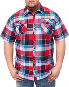 Men - Plaid Woven Shirts (B&T)