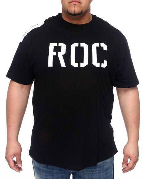 Rocawear Men Black Roc 99 Raglan Tee (B&T)