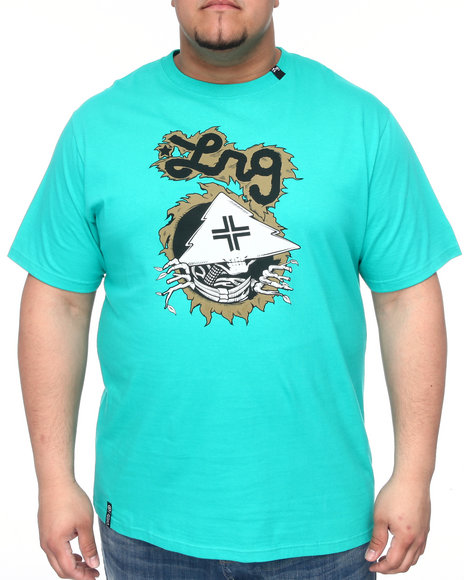 Lrg Men Teal Tree Ripper Tee (B&T)