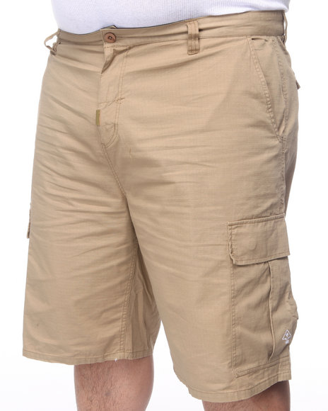 Lrg Men Khaki Core Collection Classic Cargo Shorts (B&T)