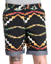 10.Deep - Cortlandt Native Pattern Short w/ Contrast Cuff