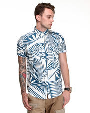 10.Deep - Tribes Deco S/S Button Down