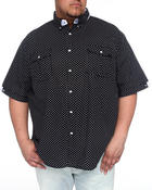 Men - Polka dot Short Sleeve Woven Shirt