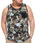 Men - Up Rise Tank Top (B&T)