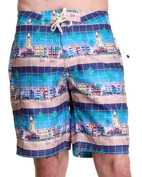 "Billionaire Boys Club - ""Mawaiian"" Print Board Short"