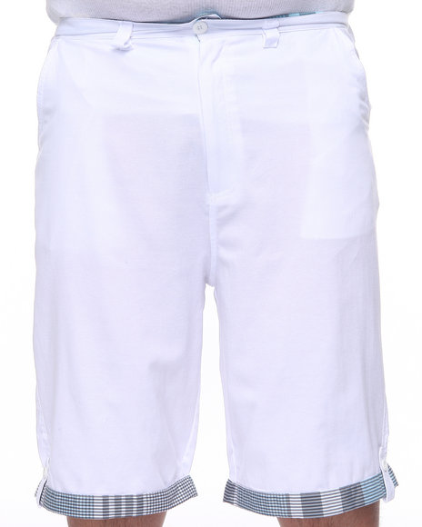 Enyce Men White Scorpio Chambray Short (B&T)