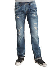 Men - Rebel Straight 16 Year Original Rip & Repair Denim