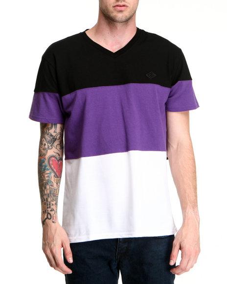 Enyce Men Purple Element T-Shirt