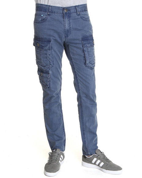 Darring Men Crazy 8 Cargo Pants Blue 30x32