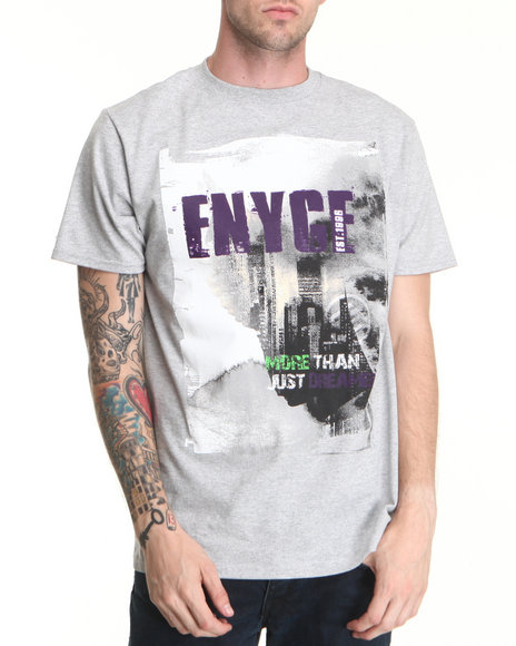 Enyce Men Grey More Than A Dreamer T-Shirt