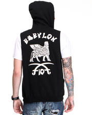 10.Deep - Babylon Sleeveless Zip Hood