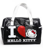 Bags - I Love Kitty Satchel w/stones glitter