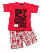Sets - 2 PC SET - TEE & SHORTS (8-20)