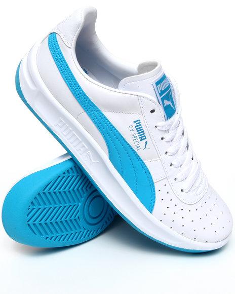 Puma Men Blue,White Gv Special Sneakers
