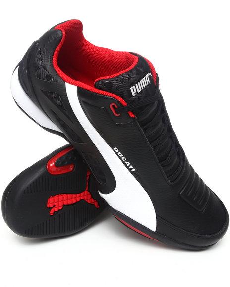 Puma Men Black Hyperazzo Ducati Sneakers