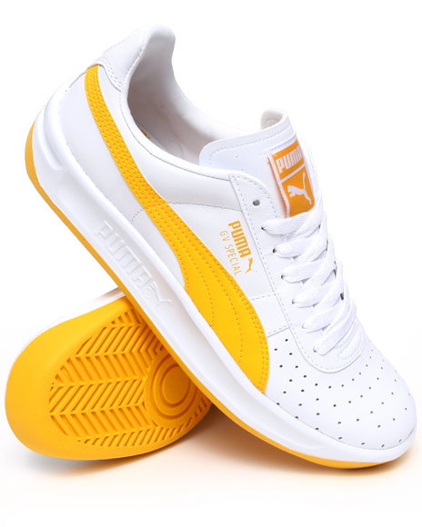 Puma Men White,Yellow Gv Special Sneakers