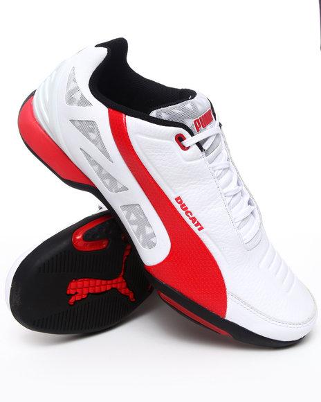 Puma Men White Hyperazzo Ducati Sneakers