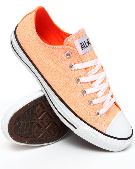 Converse Orange Chuck Taylor All Star Ox Sneakers