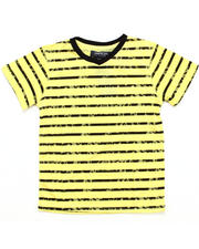 Sizes 8-20 - Big Kids - V-NECK STRIPED TEE (8-20)