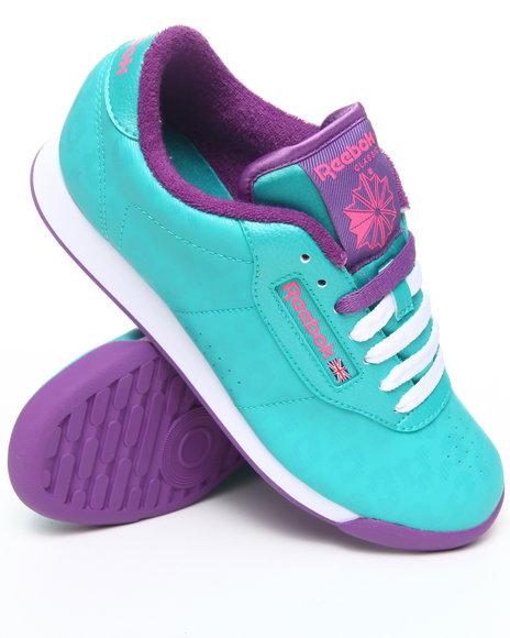 Reebok Women Teal Princess Sneakers