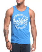 Men - Script Bolt tank top