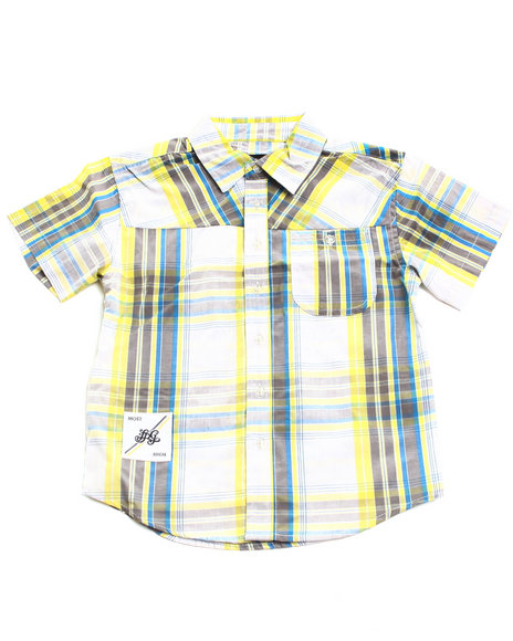 LRG Boys Blue Most Lifted Woven (2T-4T)