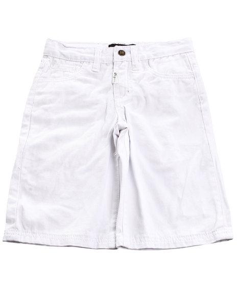 LRG Boys White Chino Shorts (8-20)
