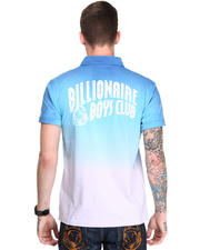 Billionaire Boys Club - Ombre Uptown Fade Polo w/ Arch Logo Back Detail