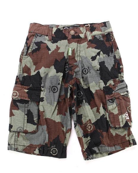 LRG Boys Camo Cargo Shorts (4-7)
