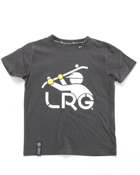 LRG Boys Grey South Slider Tee (8-20)