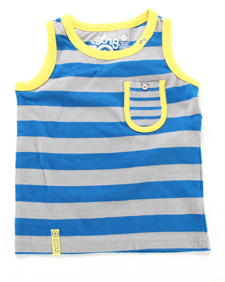 LRG Boys Light Grey Forestation Tank Top (8-20)