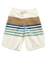 Lucky Brand - STRIPED SUPPLEX BOARD SHORT (8-20)