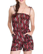 Women - Birds Of A Feather Romper