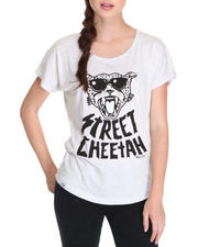 Women - Street Cheetah Dolman Tee