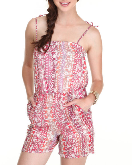 Fashion Lab - Women Pink The Secret Society Romper