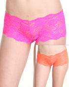 Intimates & Sleepwear - 2Pk Lace XOXO Bling Logo Shorts