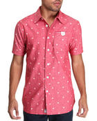 Parish - Star S/S Button-down